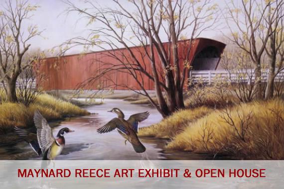 Friends of Neal Smith National Wildlife Refuge | Maynard Reece Art Exhibit