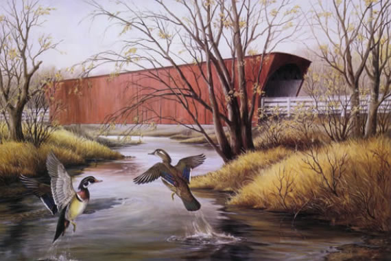 Friends of Neal Smith National Wildlife Refuge | Maynard Reece Artwork