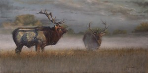 Artist Michale Wilson's Painting | Concert on the Prairie with Friends of Neal Smith NWR