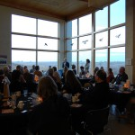 A dinner lecture at the Neal Smith National Wildlife Refuge Visitors Center