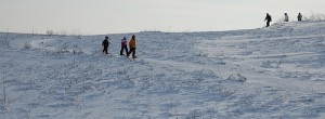 Neal Smith NWR snowshoe hike