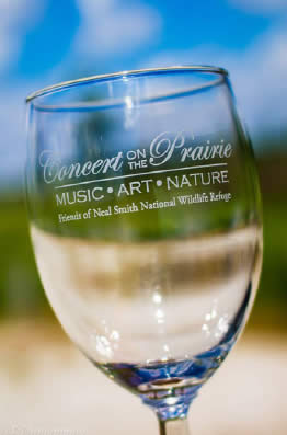 Friends of Neal Smith NWR | Concert on the Prairie 2014 Wine Glass