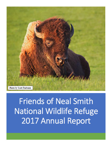 Friends of Neal Smith National Wildlife Refuge 2017 Annual Report Cover