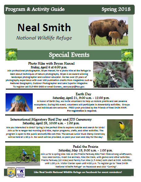 What To Do in Prairie City, IA | Friends of Neal Smith National Wildlife Refuge | Activities and Events